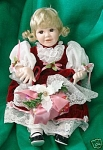 Click to view larger image of SANDRA KUCK`CHRISTMAS CAROL DOLL~MIB (Image1)