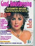 Good Housekeeping magazine Eliz. Taylor - March 1995
