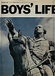 Click here to enlarge image and see more about item M0017: Boys' Life Magazine - February 1968