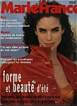 Click here to enlarge image and see more about item M0030: Marie France magazine- 15 Juillet 1991