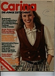 Click here to enlarge image and see more about item M0033: Carina Die Junge Zeitschrift - August 1978