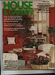 Click here to enlarge image and see more about item M0040: House & Garden Magazine - August 1979