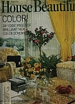 Click here to enlarge image and see more about item M0061: House Beautiful Magazine - May  1969