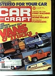 Click here to enlarge image and see more about item M0090: Car Craft Magazine - July 1976