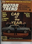 Click here to enlarge image and see more about item M0110: Motor Trend Magazine  February 1977