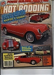 Click here to enlarge image and see more about item M0112: Hot Rodding Magazine - February 1987