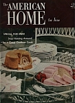 Click here to enlarge image and see more about item M0155: The American Home for June -  June 1952