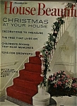 House Beautiful Magazine - December  1965