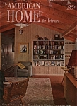 Click here to enlarge image and see more about item M0181: The American Home - February 1950