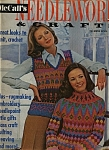 Click here to enlarge image and see more about item M0193: McCall;s Needlework & crafts magazine - 1973-74