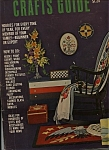 Click here to enlarge image and see more about item M0199: House & Crafts Guide - 1963