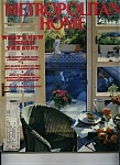 Click here to enlarge image and see more about item M0228: Metropolitan Home Magazine - July 1988