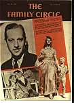 Click here to enlarge image and see more about item M0235: The Family Circle magazine -  May 6, 1938