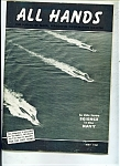 Click here to enlarge image and see more about item M0294a: US Navy - All Hands magazine -  May 1961