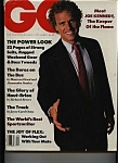 Click here to enlarge image and see more about item M0309: GQ- Gentlemen's  Quarterly - September  1988