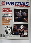 Click here to enlarge image and see more about item M0375: Detroit Pistons Insider - June 1992