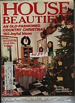 House Beautiful magazine - December 1983