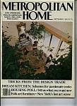Metropolitan Home magazine - September 1983