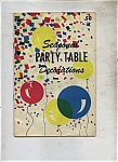 Seasonal Party Table decorations - 1961