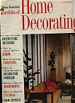 Click here to enlarge image and see more about item M0546: House Beautiful's Home Decorating - 1963 edition