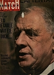 Paris Match  magazine - lst Sept. 1962