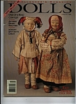 Click here to enlarge image and see more about item M0563: DOLLS, The Collector's Magazine -  January 1994