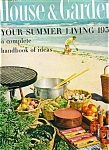 House & Garden Magazine- June 1956