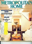 Click here to enlarge image and see more about item M0671: Metropolitan Home - February 1988