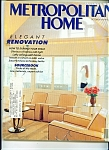 Click here to enlarge image and see more about item M0675: Metropolitan Home - Octoer 1987