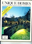 Unique Homes   Aug/Sept.  1983