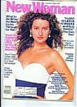 Click here to enlarge image and see more about item M0698: New Woman magazine -January 1988