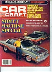 Car Craft magazine March 1982