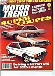 Click here to enlarge image and see more about item M0709: Motor Trend Magazine -June 1978