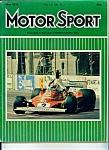 Motor Sport magazine - May 1976