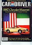 Car & Driver magazine - December 1985
