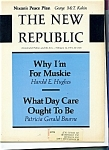 Click here to enlarge image and see more about item M0736: The New Republic - February 12, 1972