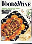 Food & Wine magazine - January 1986