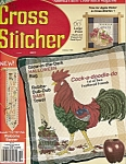 Click here to enlarge image and see more about item M0748M: Cross Stitcher magfazine -  October 1996