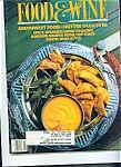 Food & Wine Magazine - April 1988