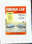 FOREIGN CAR GUIDE  - December 1959