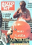 Click here to enlarge image and see more about item M0775: Auto Spring Magazine (Italian) - 8-15 Luglio 1975