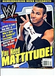 Click here to enlarge image and see more about item M0844: You Need Mattitude (Wrestling magazine) July 2003