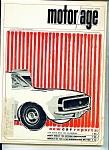 Motor Age Magazine - October 1966