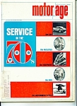 Motor Age Magazine - November 1966