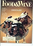 Food & Wine Magazine - February 1984