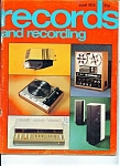 Click here to enlarge image and see more about item M1061: Records and REcording magazine- April 1973