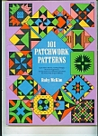 Click here to enlarge image and see more about item M1128: 101 Patchwork Patterns -Copyright 1962