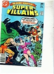 Super Villains comic - DC comics # 11 Dec. 1977
