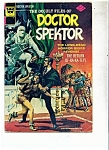 Click here to enlarge image and see more about item M1184: Doctor Spektor comic - Whitman comics - # 10 1974