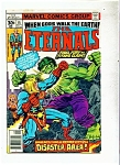 The Eternals comic - # 15  Sept. 1977